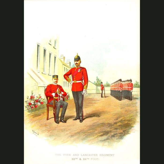 Fine art print for sale. The York & Lancaster Regiment - British Army Unit