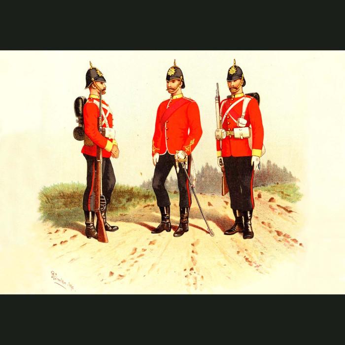 Fine art print for sale. The Buffs - British Army Unit