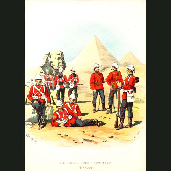 Fine art print for sale. The Royal Irish Regiment - British Army Unit
