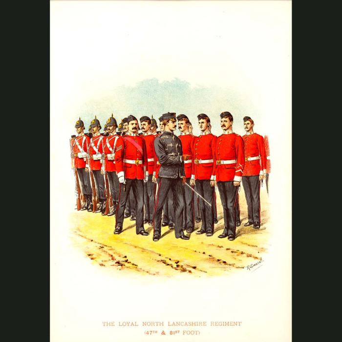 Fine art print for sale. The Royal North Lancashire Regiment - British Army Unit