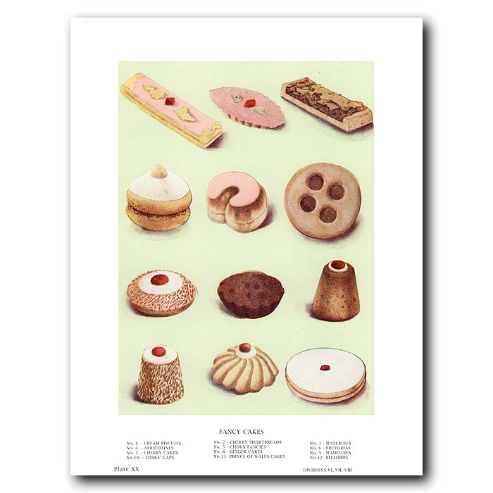 Fine art print for sale. Fancy Cakes