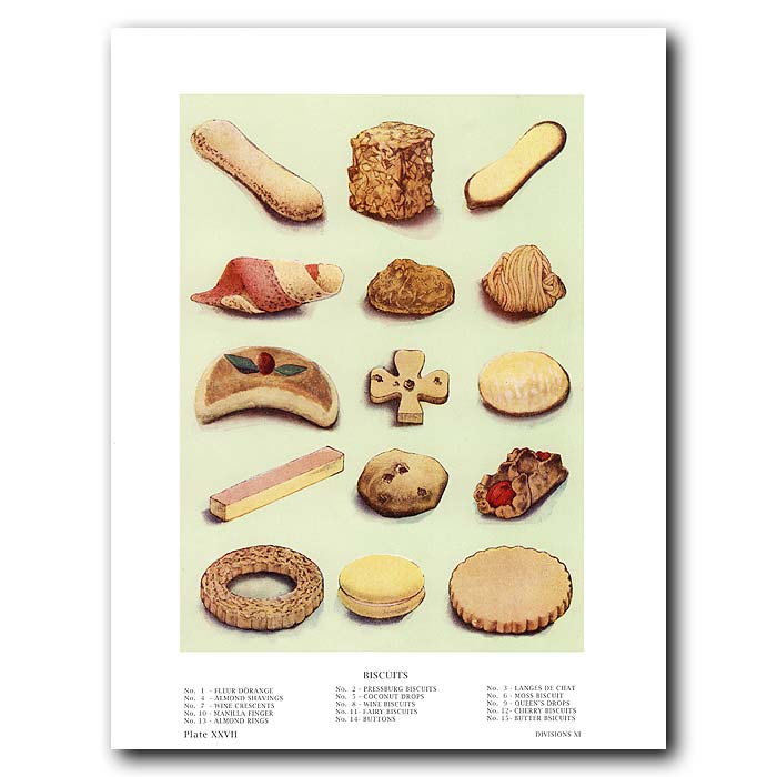 Fine art print for sale. Biscuits (Cookies)