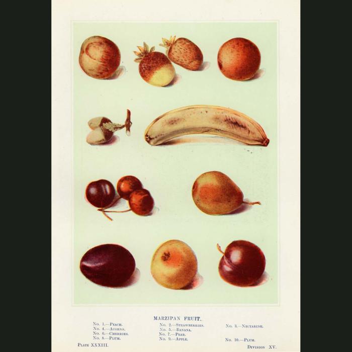 Fine art print for sale. Marzipan Fruit