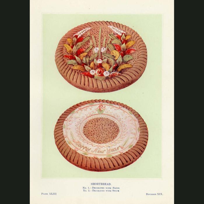 Fine art print for sale. Shortbread Cakes