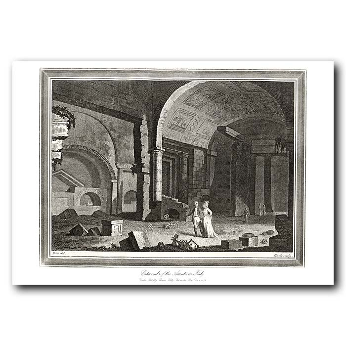 Fine art print for sale. Catacombs In Italy