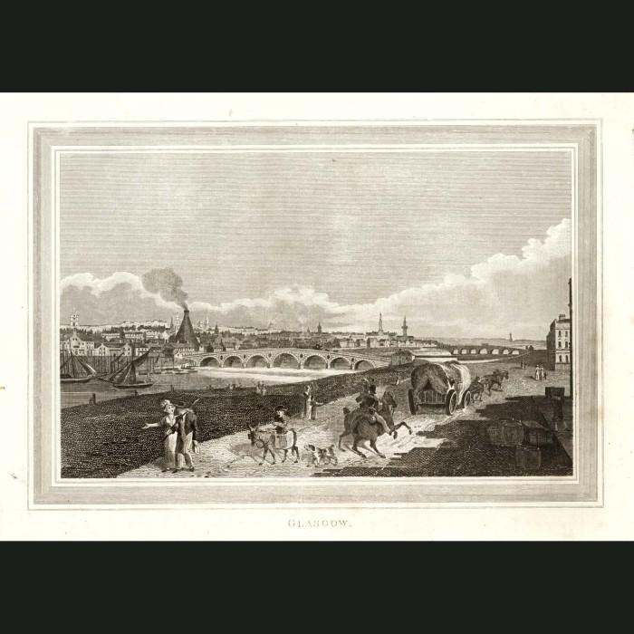 Fine art print for sale. Glasgow