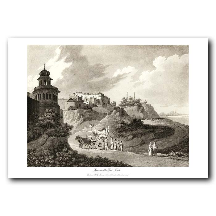 Fine art print for sale. Scene In The East Indies