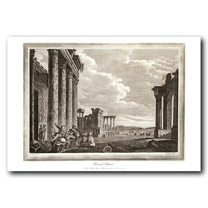 Fine art print for sale. Ruins Of Palmyra In Syria