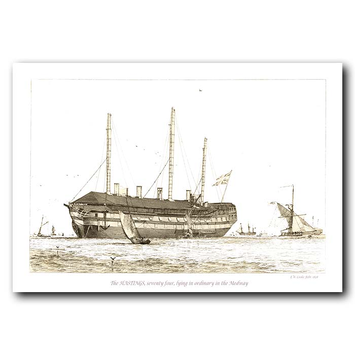 Fine art print for sale. The Hastings Ship