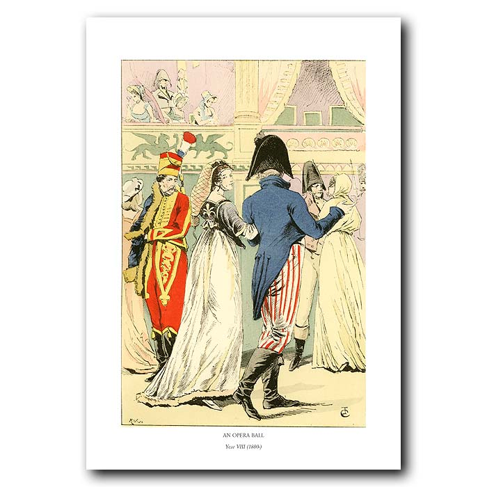 Fine art print for sale. Opera Ball In Paris