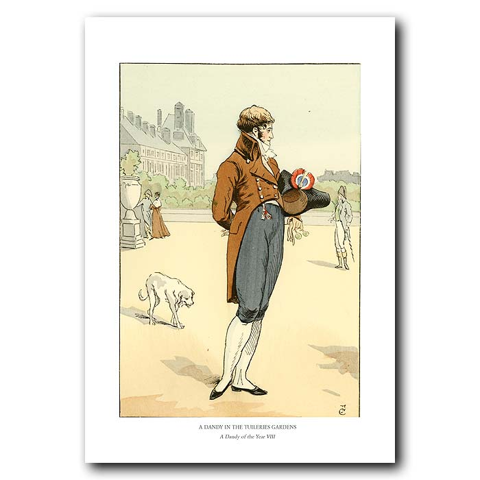 Fine art print for sale. A Walk In The Tuileries Gardens