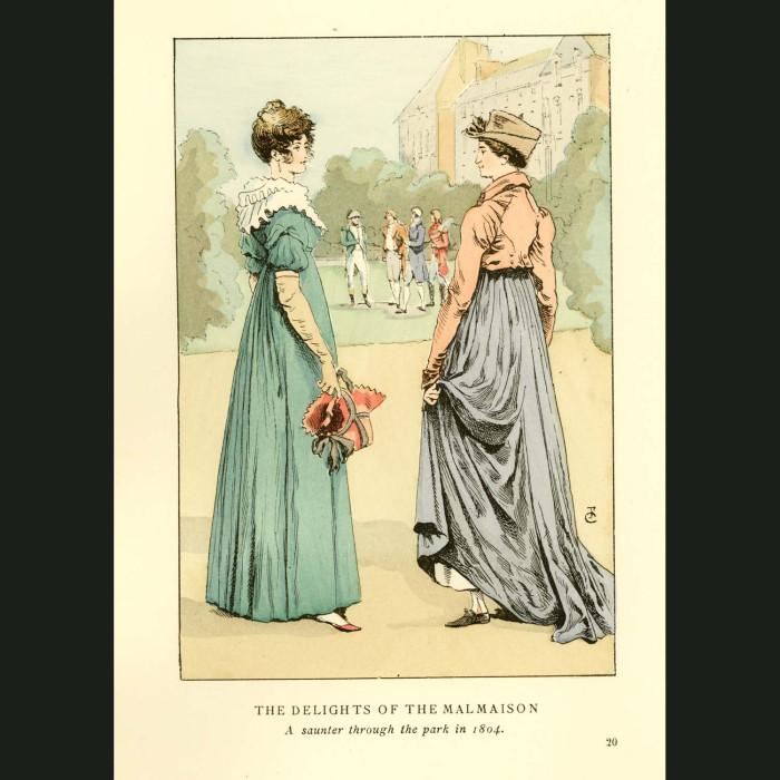 Fine art print for sale. Malmaison Park Near Paris