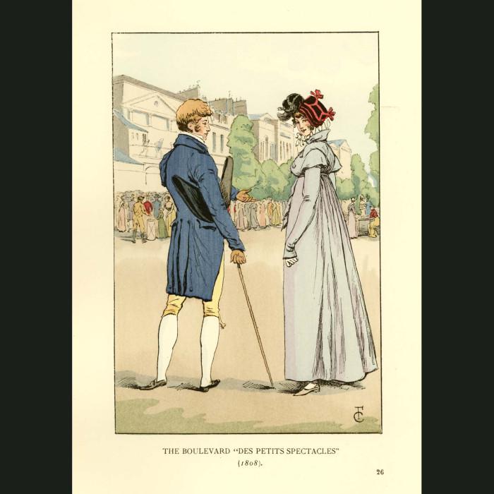 Fine art print for sale. The Boulevard 'des Petits Spectacles