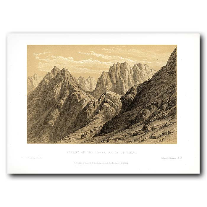 Fine art print for sale. Lower Ranges Of The Sinai