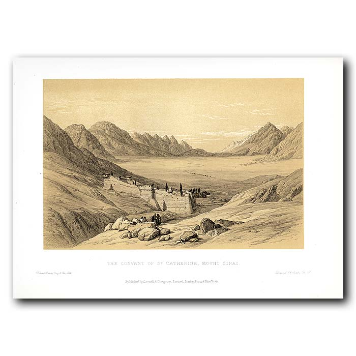 Fine art print for sale. Convent Of St. Catherine In The Sinai