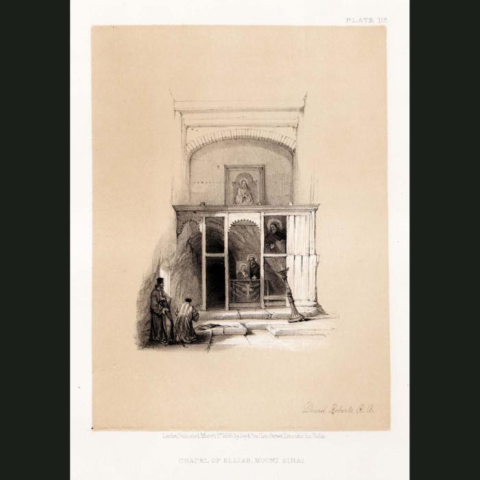 Fine art print for sale. Chapel Of Elijah, Mount Sinai
