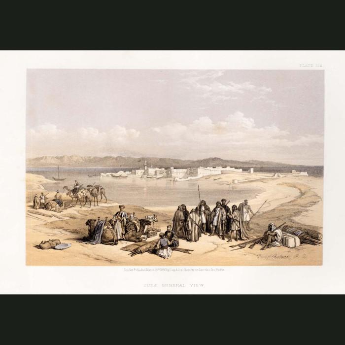 Fine art print for sale. General View Of Suez