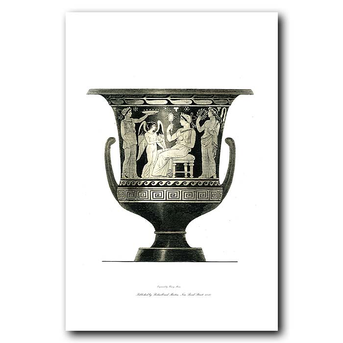 Fine art print for sale. Etruscan Vase (III) Young Bride