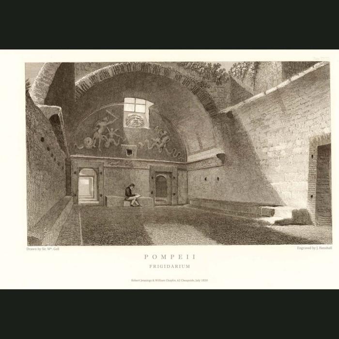Fine art print for sale. Pompeii: Frigidarium (Cold Baths)