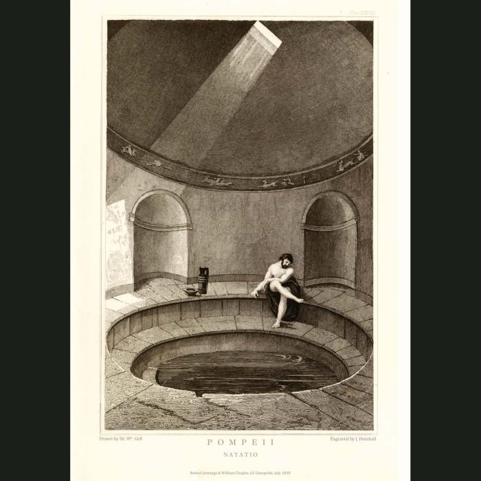Fine art print for sale. Pompeii: Natatio