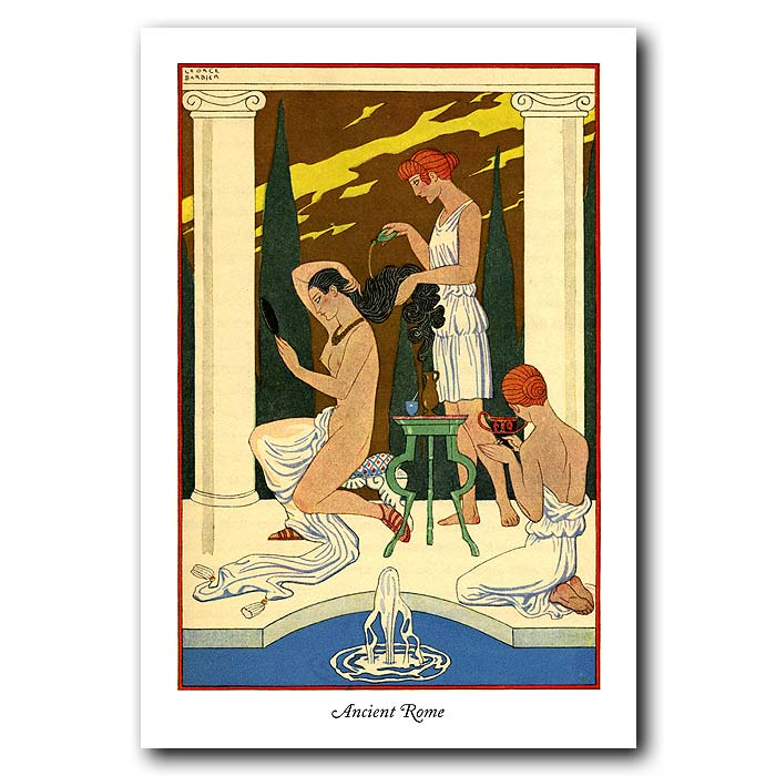 Fine art print for sale. Ancient Rome: The Romance of Perfume