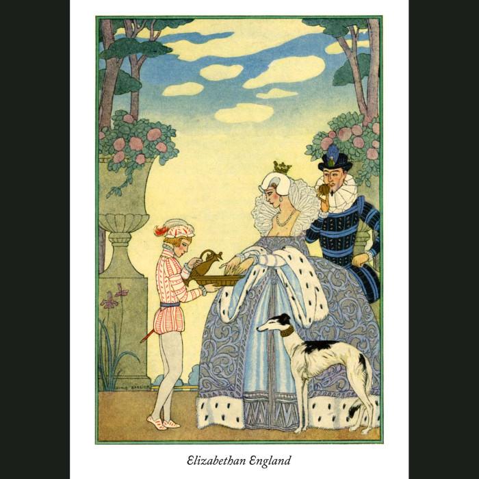 Fine art print for sale. Elizabethan England: The Romance of Perfume