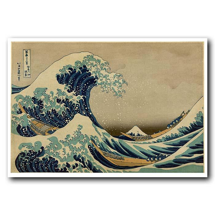 Fine art print for sale. Great Wave Off Kanagawa