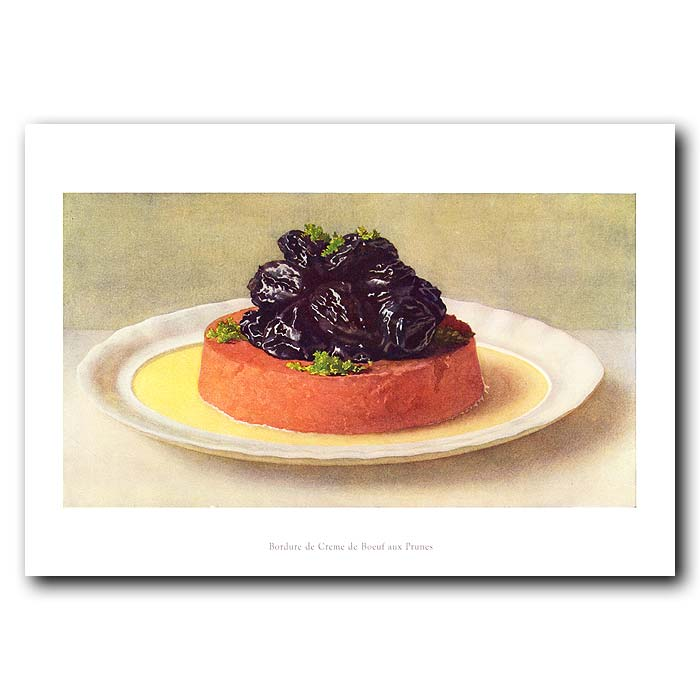 Fine art print for sale. Beef with Cream and Prunes