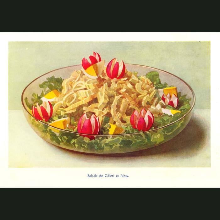 Fine art print for sale. Celery and Walnut Salad