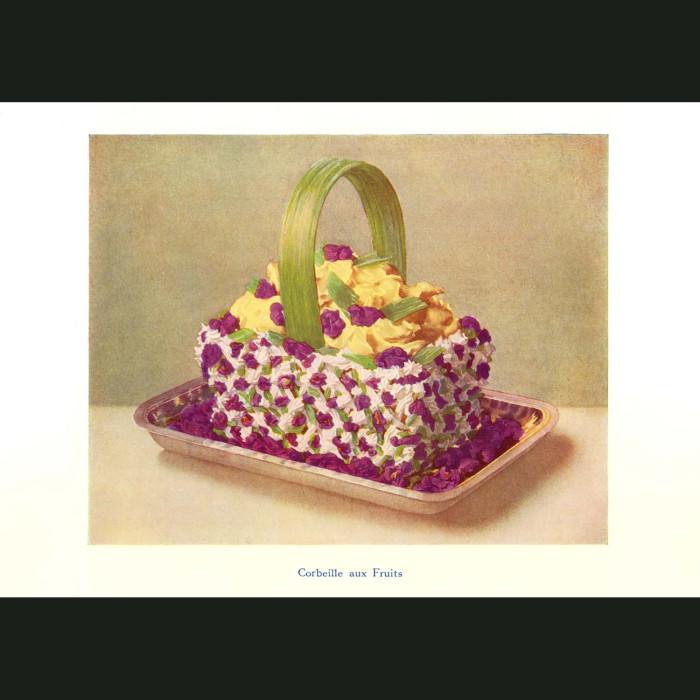 Fine art print for sale. Basket of Fruits