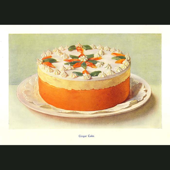 Fine art print for sale. Ginger Cake