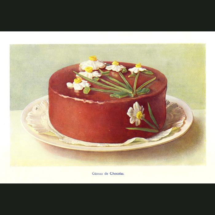 Fine art print for sale. Chocolate Cake