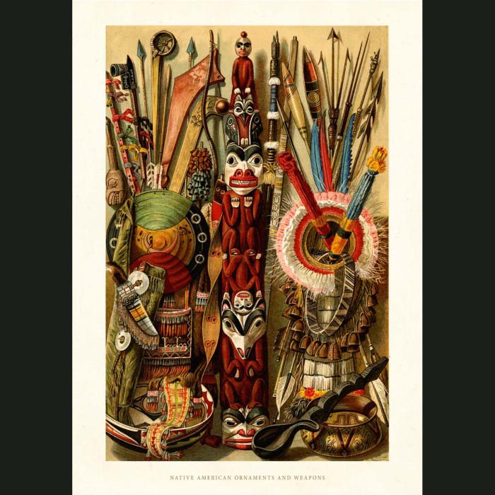 Fine art print for sale. Native American Indian Ornaments