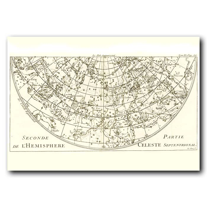 Fine art print for sale. Celestial Map For The Southern Hemisphere