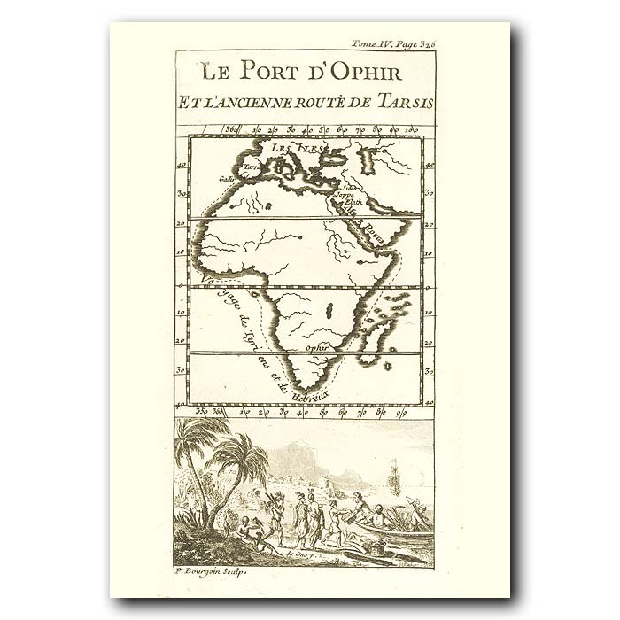 Fine art print for sale. Map Of Africa
