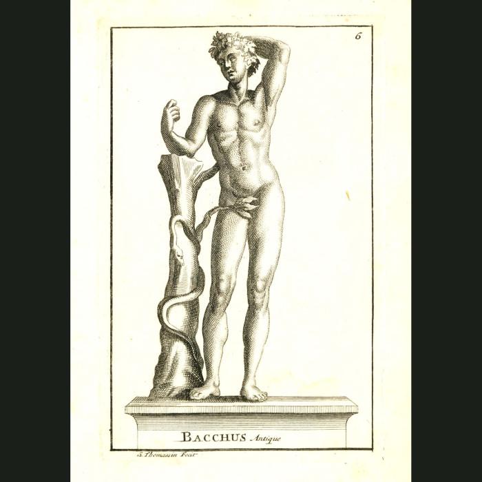 Fine art print for sale. God Bacchus or Dionysus