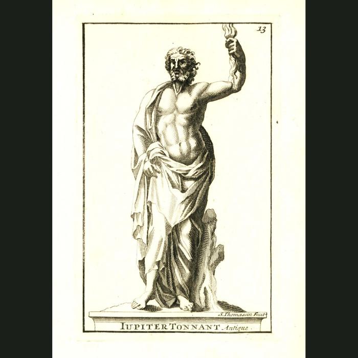 Fine art print for sale. God Jupiter (Jupiter Tonnant)