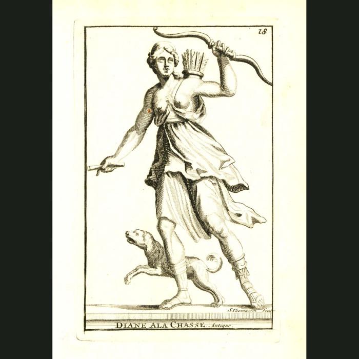 Fine art print for sale. Goddess Diana Hunting