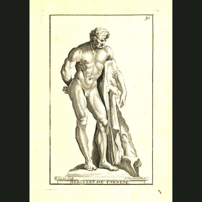 Fine art print for sale. Hercules de Farnese