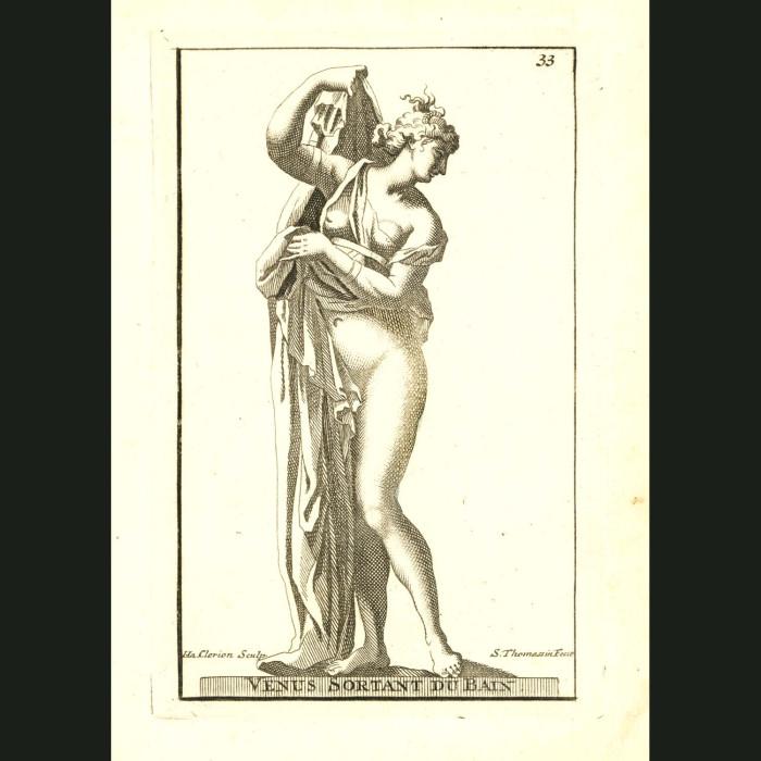 Fine art print for sale. Goddess Venus Bathing