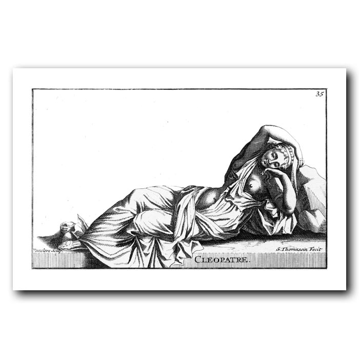 Fine art print for sale. Cleopatra Statue from Versaille