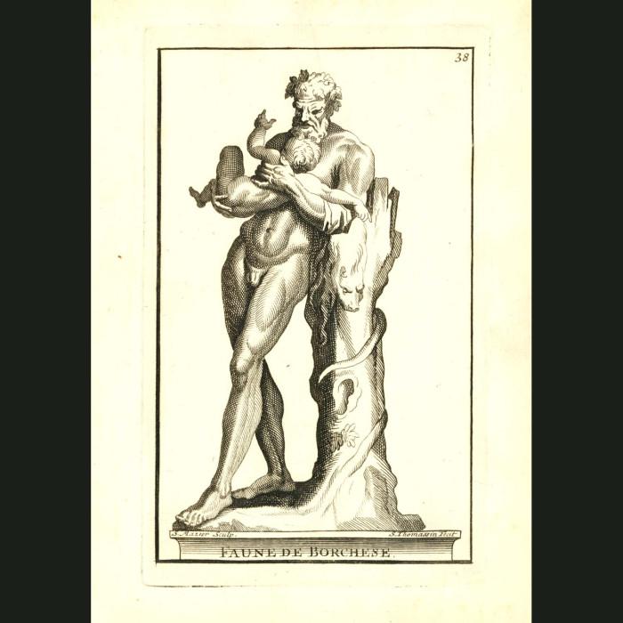 Fine art print for sale. Faune de Borchese