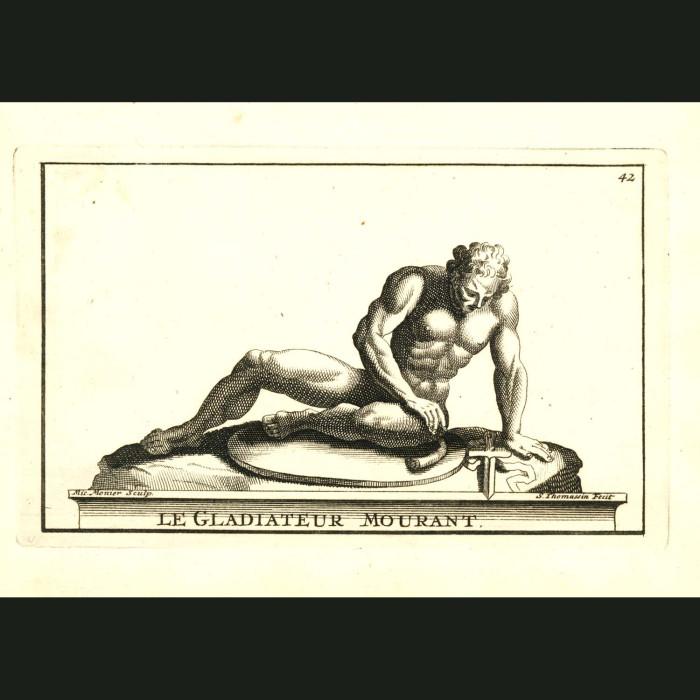 Fine art print for sale. Gladiator Statue