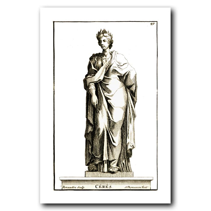 Fine art print for sale. Goddess Ceres