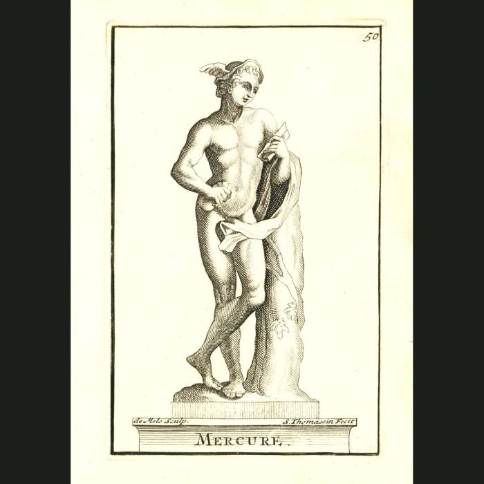 Fine art print for sale. God Mercury