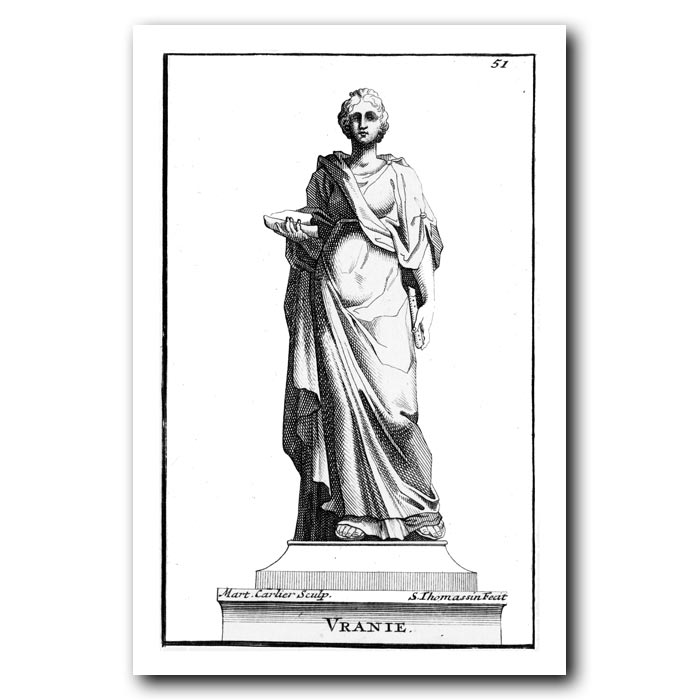 Fine art print for sale. Roman Muse Urania