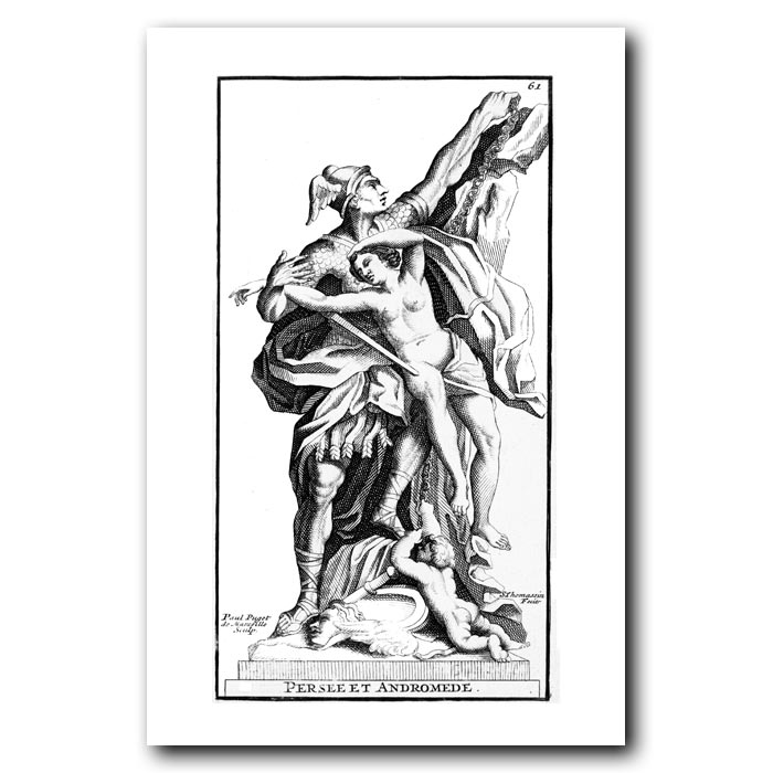 Fine art print for sale. Perseus and Andromeda