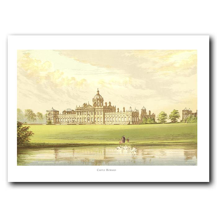 Fine art print for sale. Castle Howard