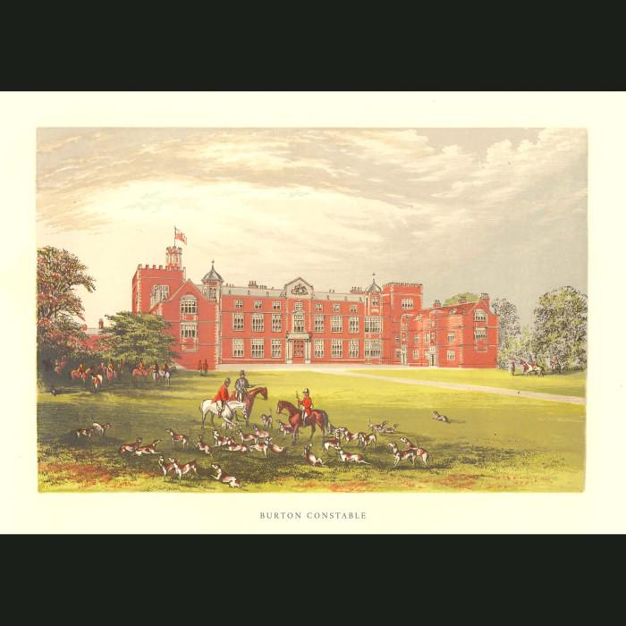 Fine art print for sale. Burton Constable Hall