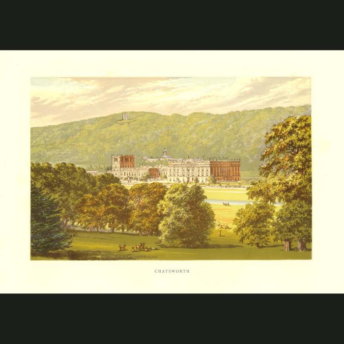Fine art print for sale. Chatsworth House